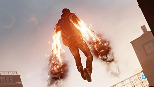 PS4 InFamous Second Son homme vole