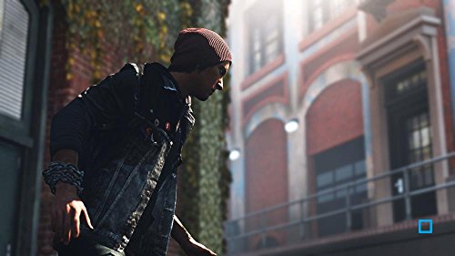 PS4 InFamous Second Son homme surveille