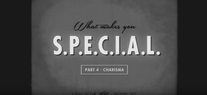 fallout 4 special charisma