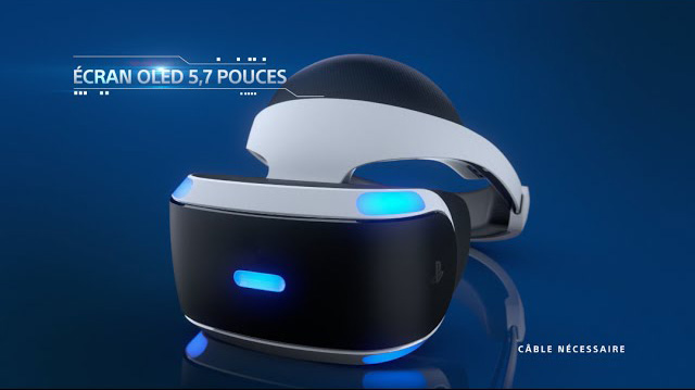 Playstation VR PS4 casque virtuel SONY