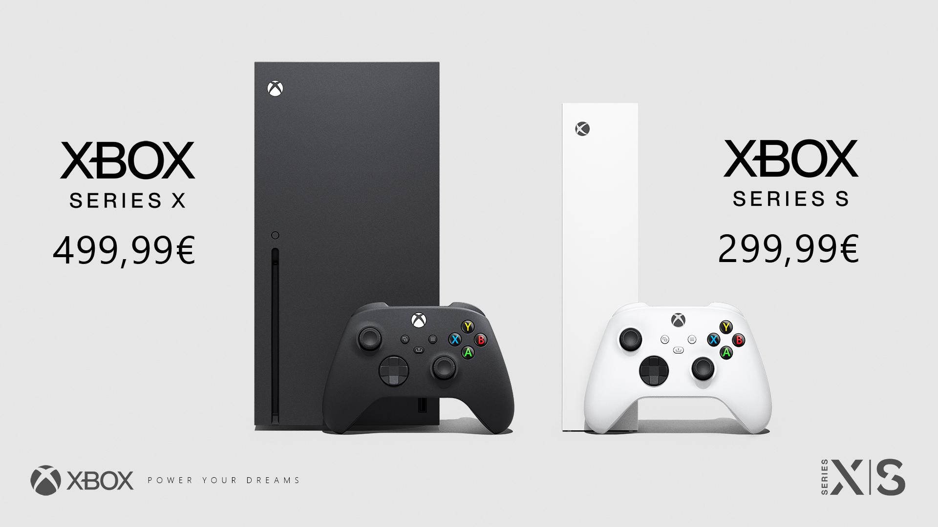 xbox serie X et xbox serie S tarifs